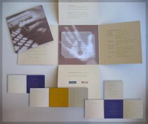 Conference Event Print Materials Graphic Design San Rafael Marin SanFrancisco
