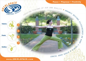 Postcard Eco Fashion Print Graphic Design San Rafael Marin San Francisco