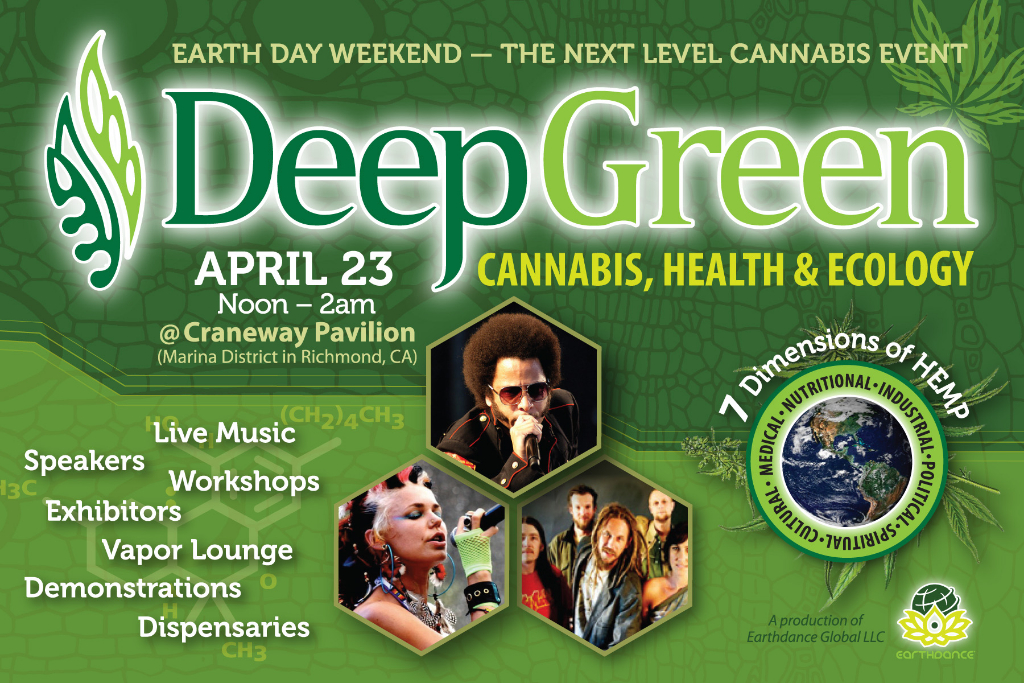 Event Conference Postcard Flyer Cannabis - Print Graphic Design San Rafael Marin San Francisco