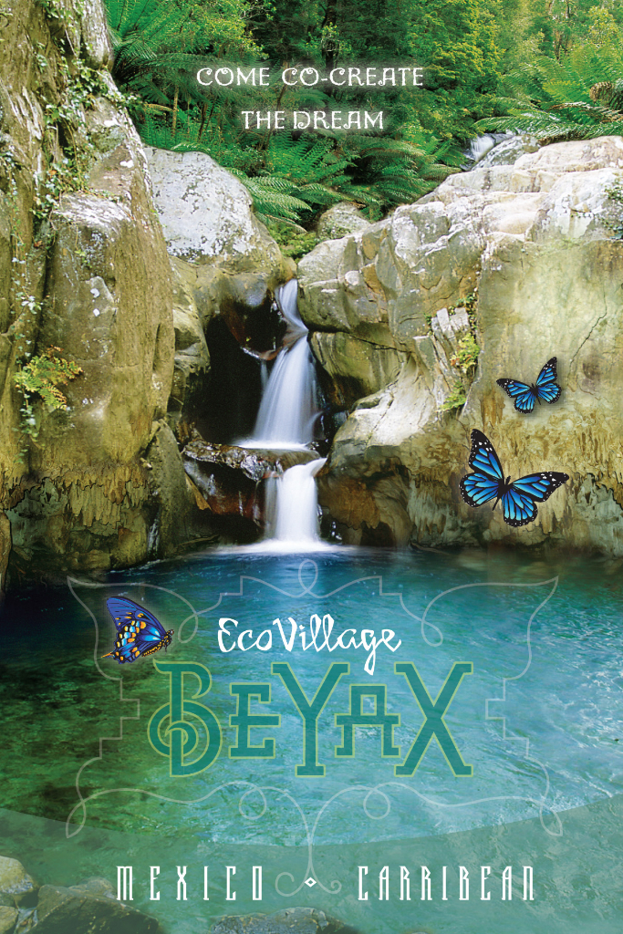 Eco Village Flyer Postcard - Print Graphic Design San Rafael Marin San Francisco