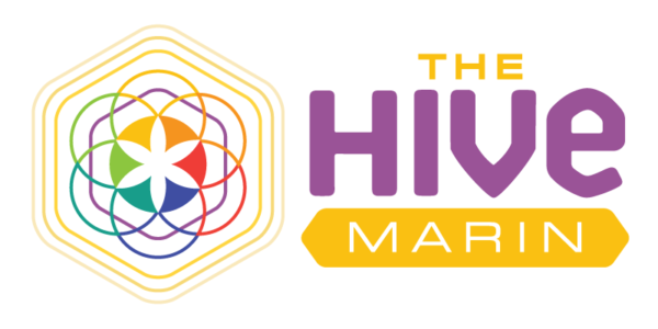 logo design hive marin graphic design oakland