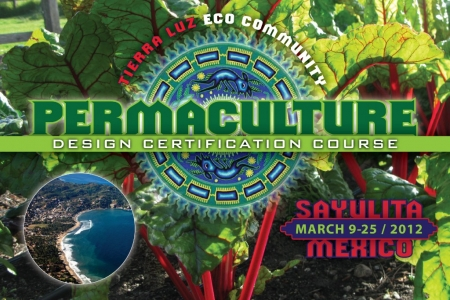 Permaculture course class event educationn Postcard - Print Graphic Design San Rafael Marin San Francisco