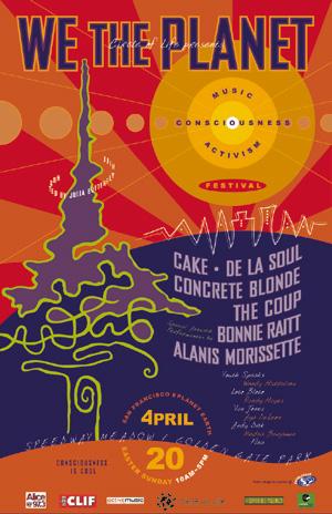 Concert Event Festival Poster - Print Graphic Design San Rafael Marin San Francisco